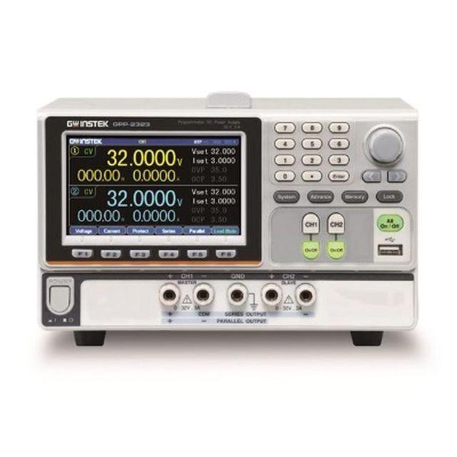 TEXIO GW INSTEK 高分解能多出力電源 電子負荷機能付き GPP-2323G