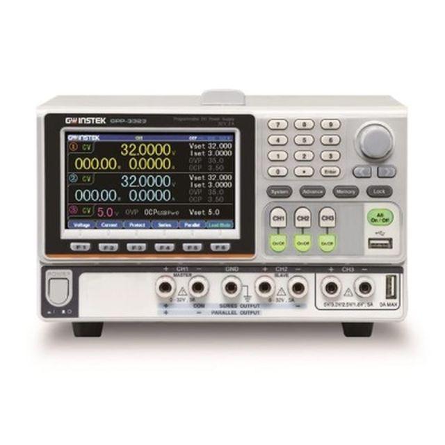 TEXIO GW INSTEK 高分解能多出力電源 電子負荷機能付き GPP-3323G