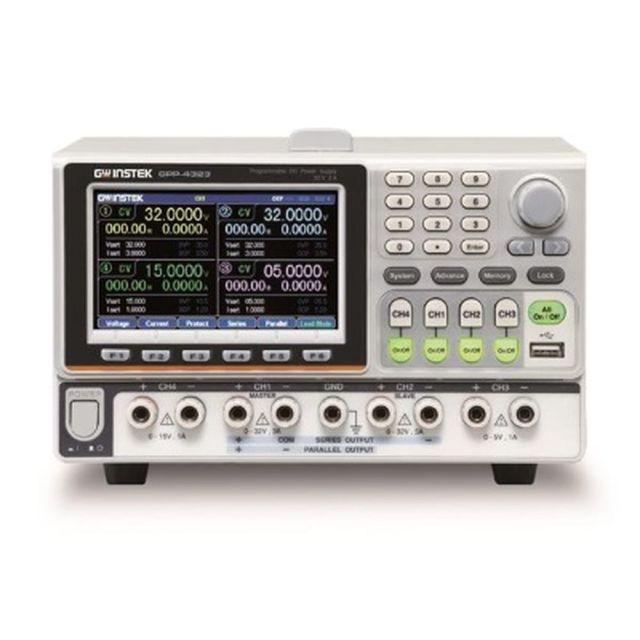 TEXIO GW INSTEK 高分解能多出力電源 電子負荷機能付き GPP-4323G