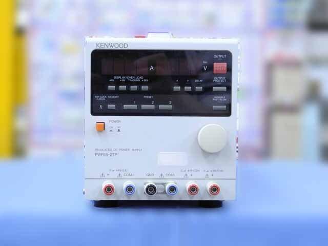中古 テクシオ(ケンウッド) 直流安定化電源 PWR18-2TP  (管理番号:IT0168)