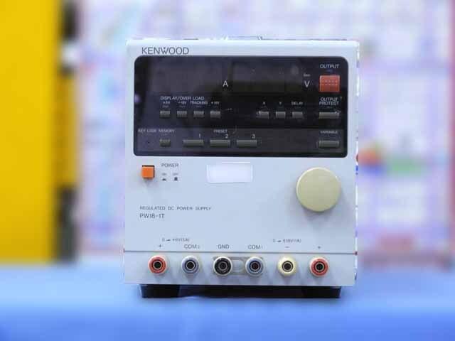 中古 テクシオ(ケンウッド) 直流安定化電源 PWR18-1T (管理番号:IT0180)