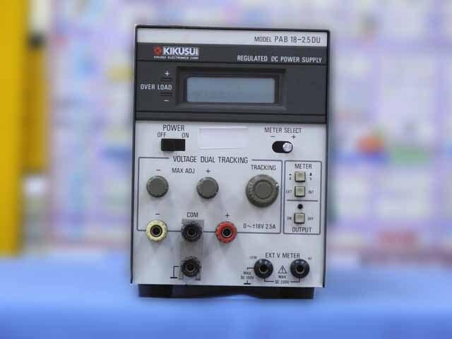 中古 菊水電子工業 直流安定化電源 PAB18-2.5DU (管理番号:IT0182)