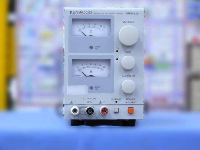 中古 テクシオ(ケンウッド) 直流安定化電源 PR18-1.2A (管理番号:IT0186)