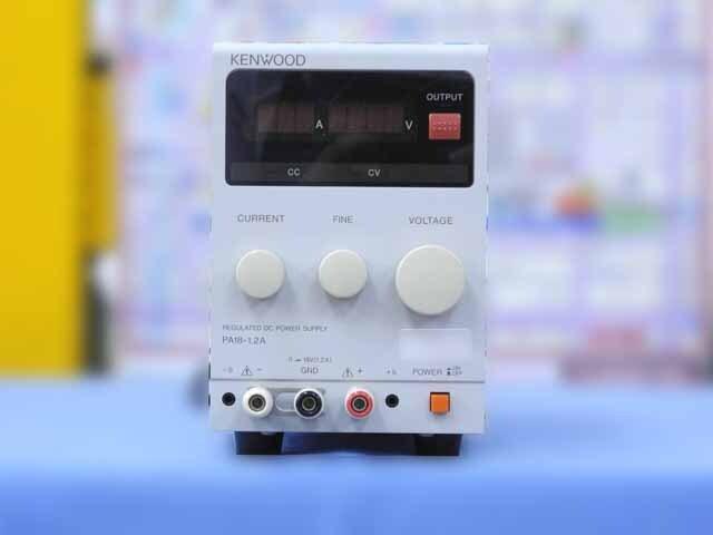 中古 テクシオ(ケンウッド) 直流安定化電源 PA18-1.2A (管理番号:IT0187)