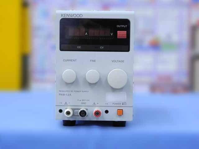 中古 テクシオ(ケンウッド) 直流安定化電源 PA18-1.2A (管理番号:IT0188)