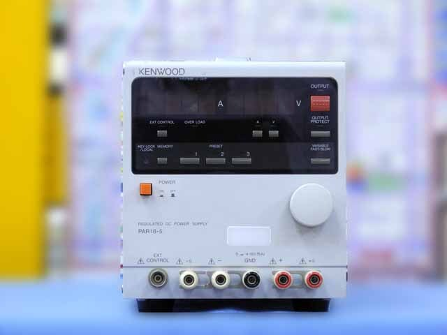 中古 テクシオ(ケンウッド) 直流安定化電源 PAR18-5 (管理番号:IT0189)