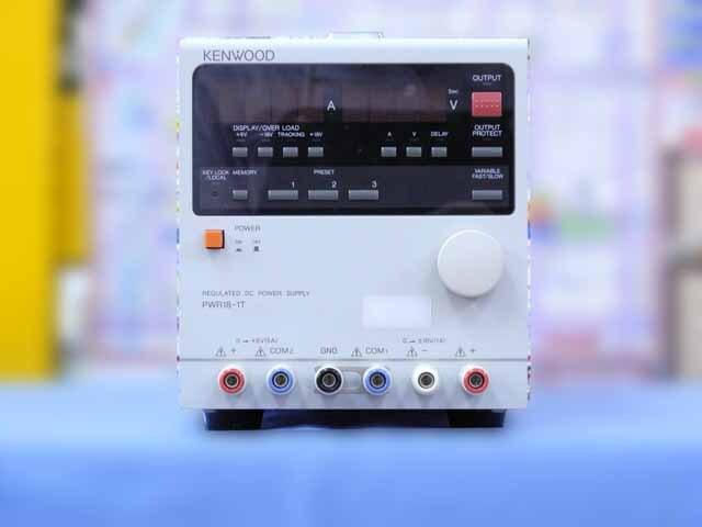 中古 テクシオ(ケンウッド) 直流安定化電源 PWR18-1T (管理番号:IT0190)