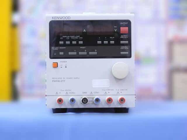 中古 テクシオ(ケンウッド) 直流安定化電源 PWR18-2TP  (管理番号:IT0191)