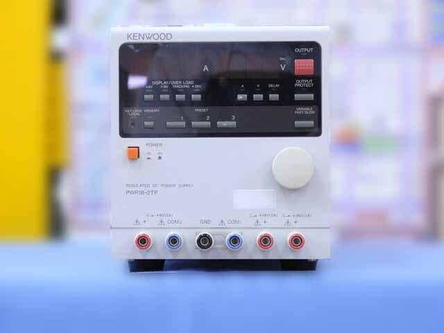 中古 テクシオ(ケンウッド) 直流安定化電源 PWR18-2TP  (管理番号:IT0192)