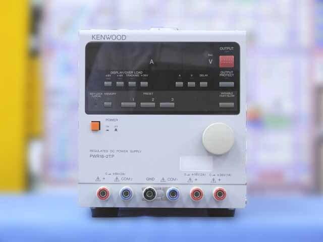 中古 テクシオ(ケンウッド) 直流安定化電源 PWR18-2TP  (管理番号:IT0193)
