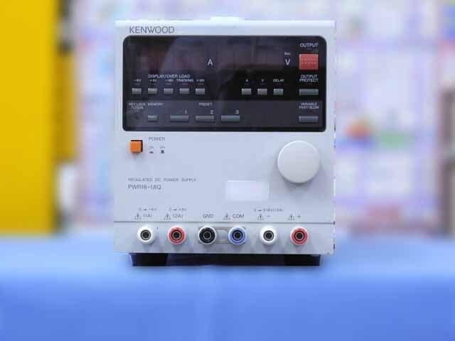 中古 テクシオ(ケンウッド) 直流安定化電源 PWR18-1.8Q (管理番号:IT0194)