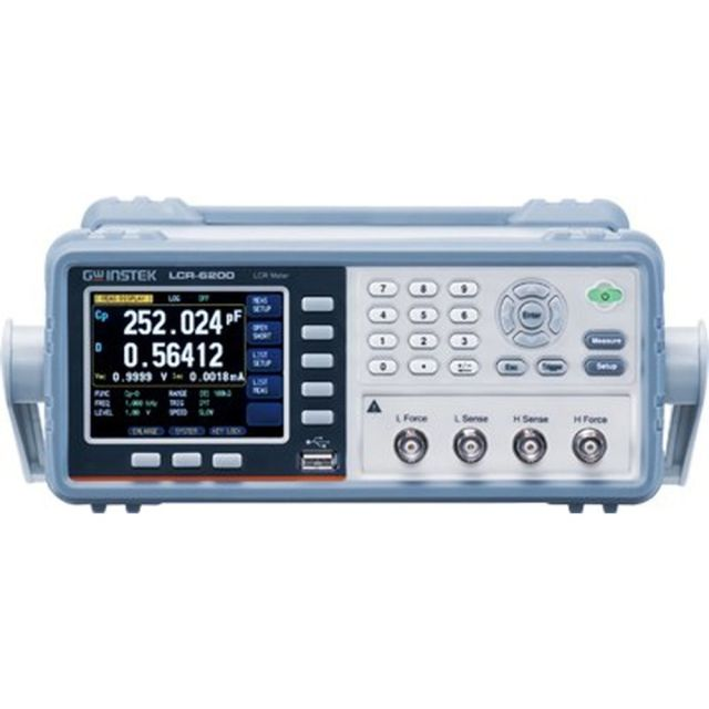 TEXIO GW INSTEK LCRメータ(10Hz~2KHz) LCR-6002