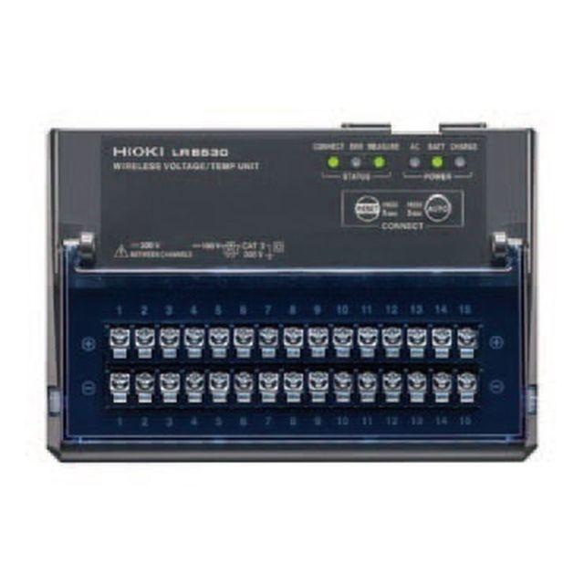 HIOKI ワイヤレス電圧・温度ユニット LR8530