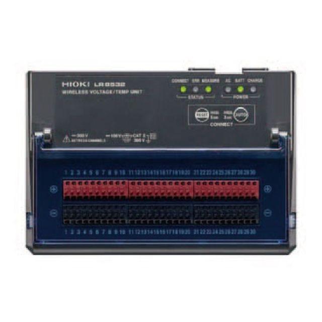 HIOKI ワイヤレス電圧・温度ユニット LR8532