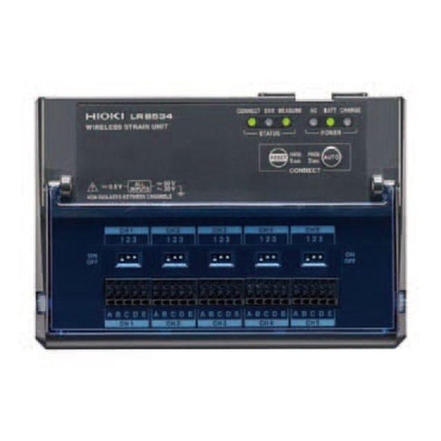 HIOKI ワイヤレスひずみユニット LR8534