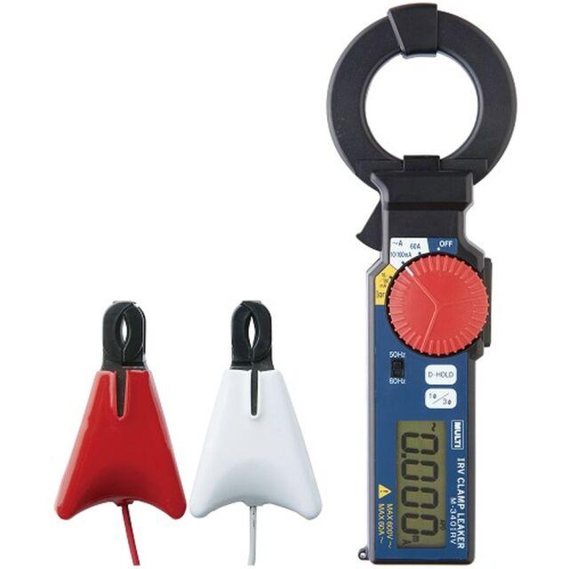 マルチ計測器販売 非接触Io/IorクランプリーカーIo/Ior AC漏れ電流 φ40mm M-340IRV