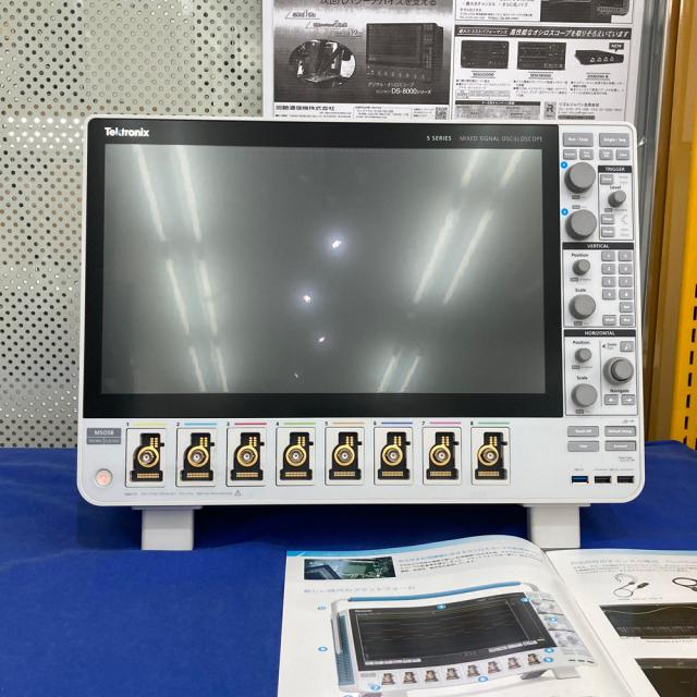 【お問合せ商品】【デモ機】Tektronix ミックスドシグナルオシロスコープ 350MHz MSO58 + 5-BW-350