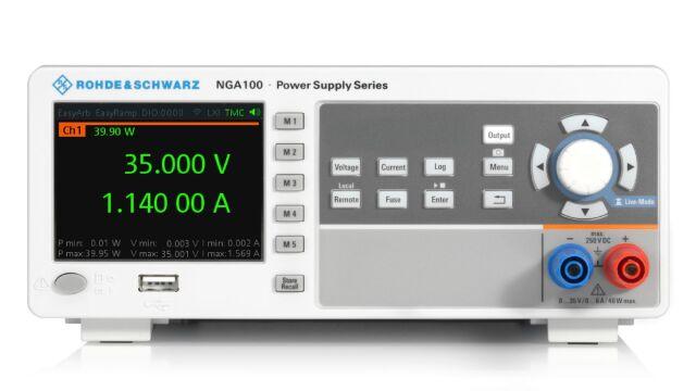 【お問合せ商品】R&S(R) 直流電源 1チャネル 40W 35V / 6A NGA101