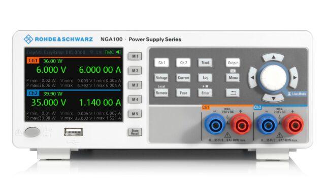 【お問合せ商品】R&S(R) 直流電源 2チャネル 80W 2 x 35V / 6A NGA102