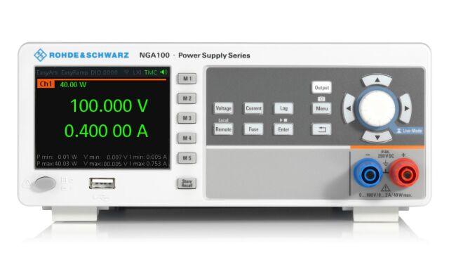 【お問合せ商品】R&S(R) 直流電源 1チャネル 40W 100V / 2A NGA141