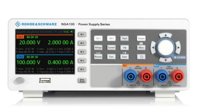 【お問合せ商品】R&S(R) 直流電源 2チャネル 80W 2 x 100V / 2A NGA142