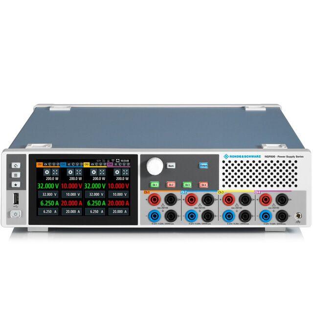 【お問合せ商品】 R&S NGP824直流電源 4チャネル特別パッケージ NGP824COMB (5601.4007P98)