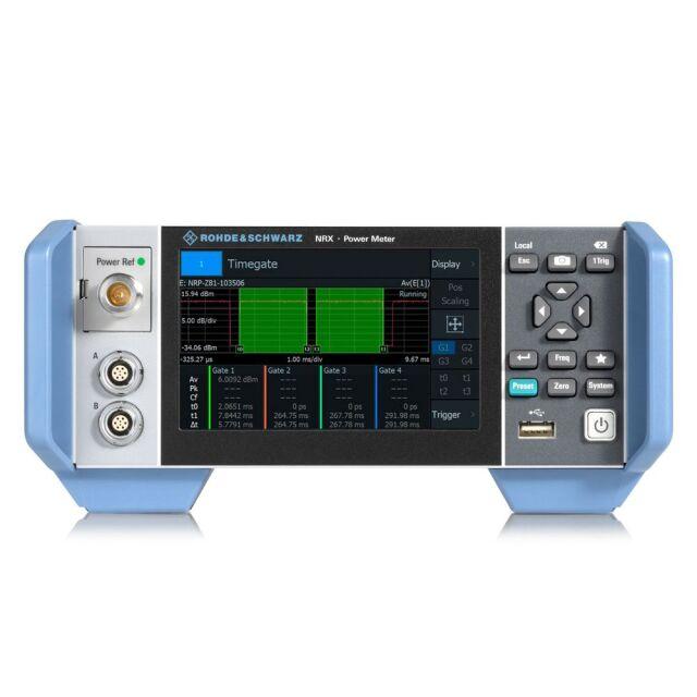 【お問合せ商品】 R&S NRXパワーメータ特別パッケージ NRX-COM4 (1424.7005P99)