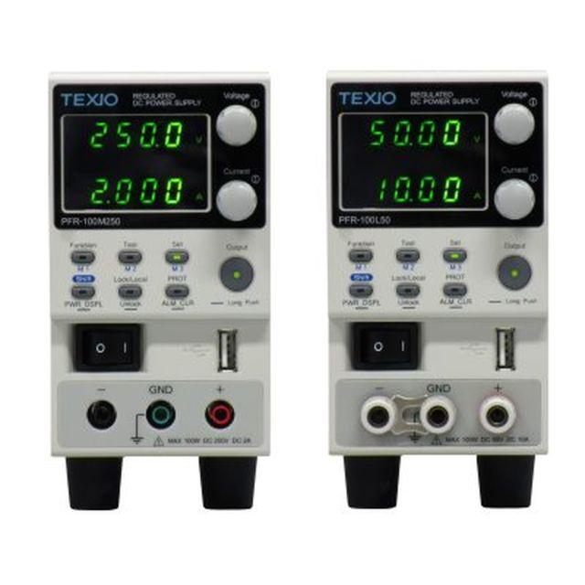 TEXIO 100Wワイドレンジ直流安定化電源 PFR-100M250G