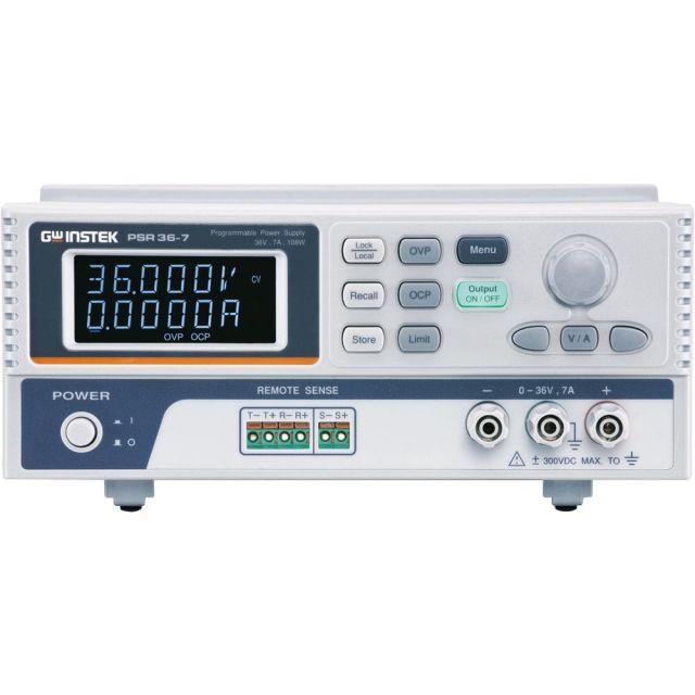 TEXIO GW INSTEK ハイブリッド方式ワイドレンジ直流安定化電源 PSR36-7G