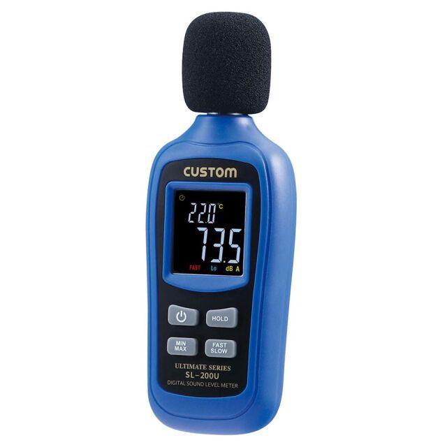 CUSTOM デジタル騒音計 SL-200U