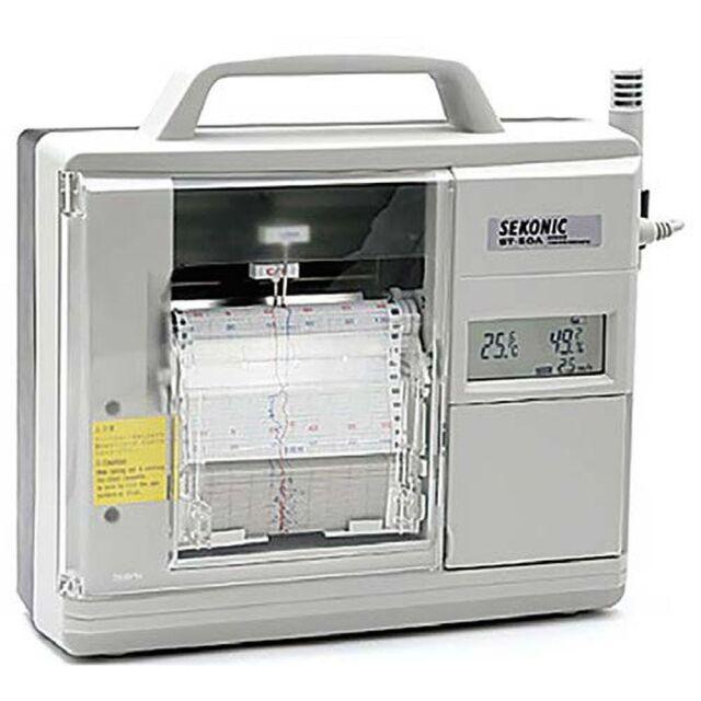 セコニック 電子式温湿度記録計 ST-50A