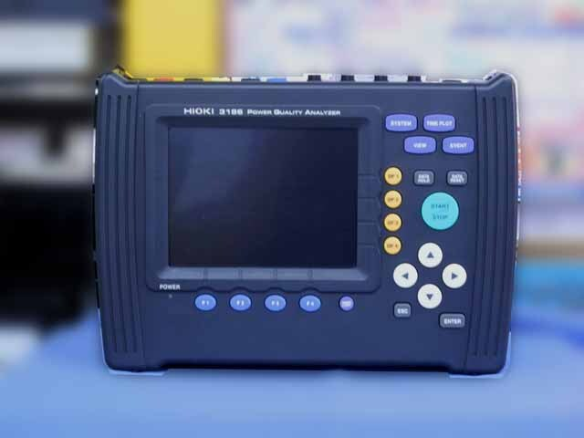 中古 日置電機 電源品質アナライザ 3196 (管理番号:TM451)