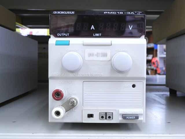 中古 菊水電子工業 直流安定化電源 PMC18-3A (管理番号:UKK-01399)