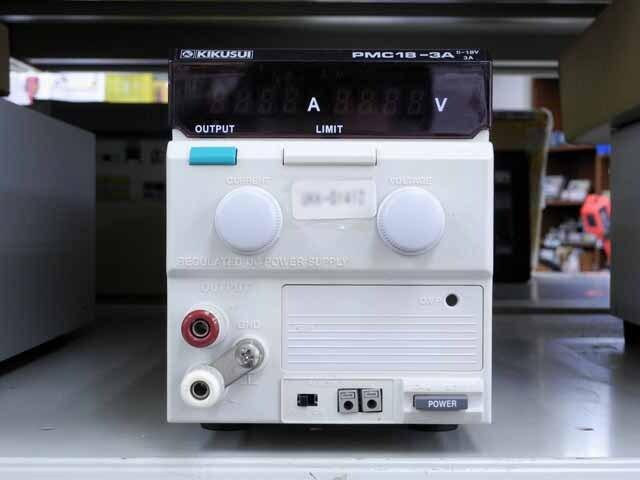 中古 菊水電子工業 直流安定化電源 PMC18-3A (管理番号:UKK-01427)