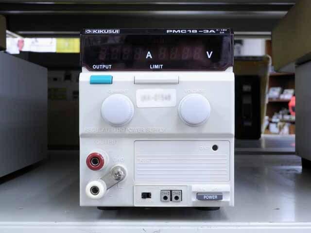 中古 菊水電子工業 直流安定化電源 PMC18-3A (管理番号:UKK-01548)
