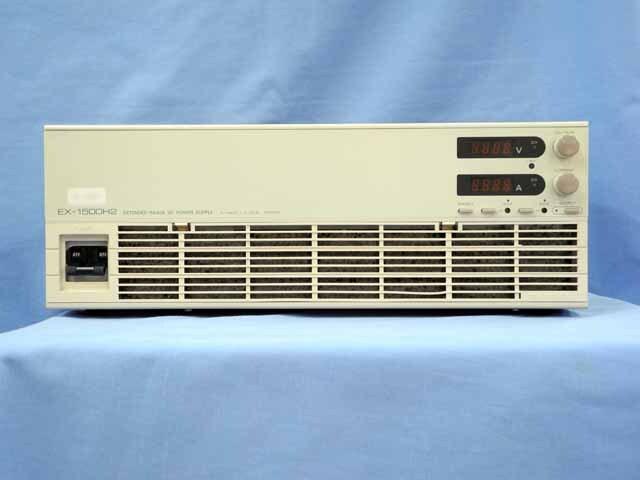 中古 高砂製作所 直流安定化電源 EX-1500H2 (管理番号:UKK-03933)
