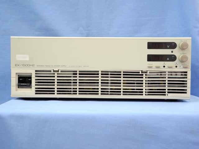 中古 高砂製作所 直流安定化電源 EX-1500H2 (管理番号:UKK-04031)