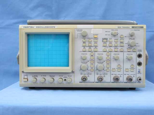 中古 岩崎通信機 アナログ・オシロスコープ SS-7840H (管理番号:UKK-04391)