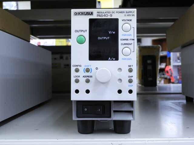 中古 菊水電子工業 直流安定化電源 PAS40-9 (管理番号:UKK-05990)