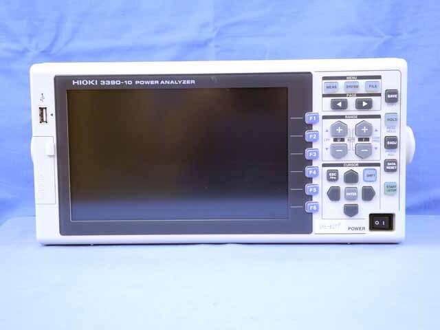 中古 日置電機 パワーアナライザ 3390-10  (管理番号:UKK-06071)
