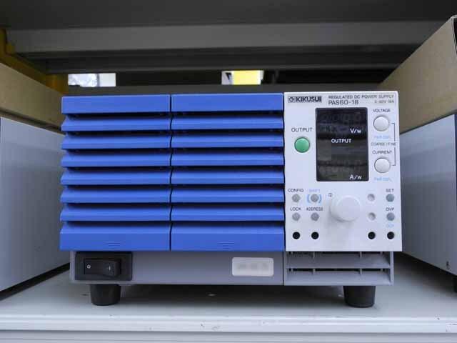 中古 菊水電子 直流安定化電源 PAS60-18  (管理番号:UKK-06125)