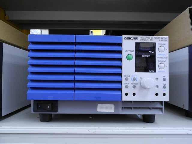 中古 菊水電子 直流安定化電源 PAS60-18  (管理番号:UKK-06126)