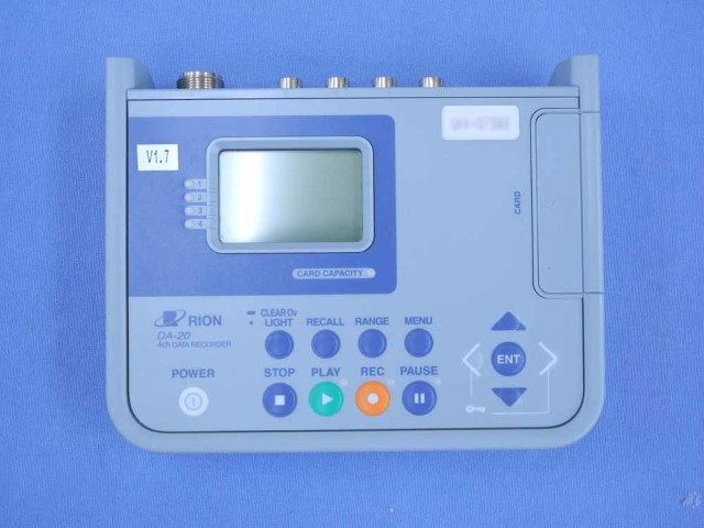 中古 リオン 4chデータレコーダ DA-20 (管理番号:UKK-07393)