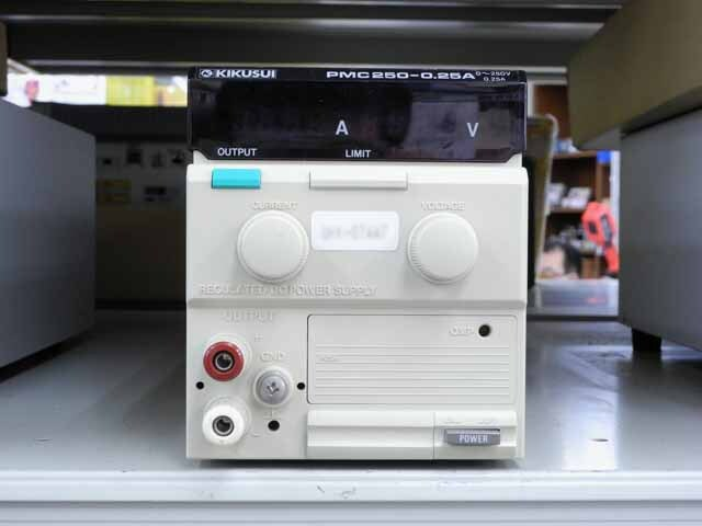 中古 菊水電子工業 直流安定化電源 PMC250-0.25A (管理番号:UKK-07447)