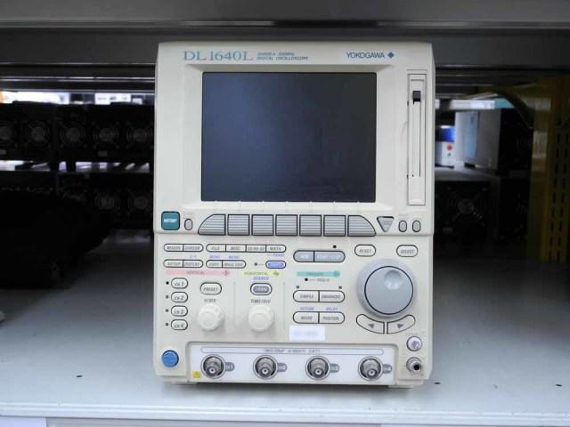 中古訳有 横河 デジタル・オシロスコープ DL1640L(701620) (管理番号:UKK-08951)