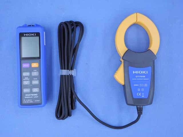 中古 日置電機 ディスプレイユニット/カレントセンサ CM7290 / CT7642  (管理番号:UKK-08962)