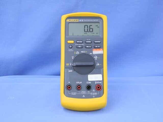 中古 フルーク デジタルマルチメータ 87V/E2キット (管理番号:UKK-09013)