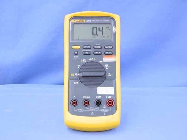 中古 フルーク デジタルマルチメータ 87V/E2キット (管理番号:UKK-09014)