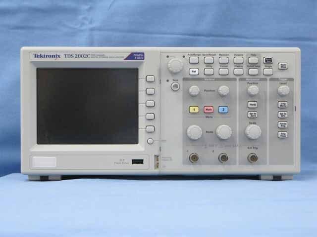 中古 テクトロニクス デジタル・オシロスコープ TDS2002C (管理番号:UKK-09118)