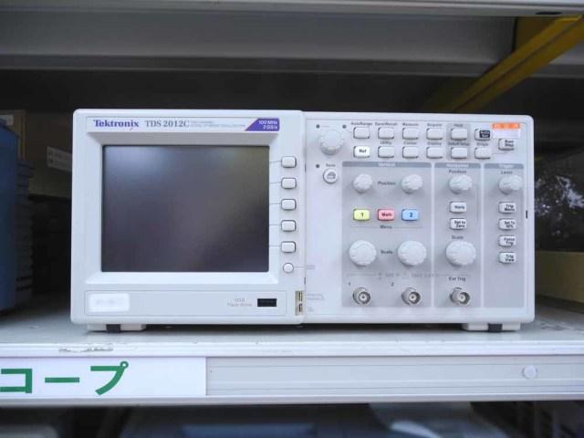中古 テクトロニクス デジタルオシロスコープ TDS2012C  (管理番号:UKK-09127)